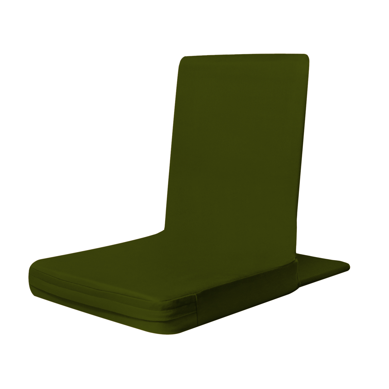 Moksh Zen Classic Large Meditation Chair Green